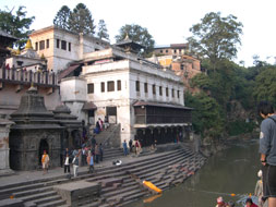 Nepal, Khatmandu. Pashupatinath. Photo