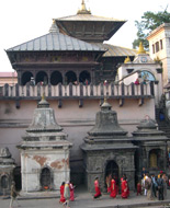 Khatmandu, Pashupatinath. Temple. Photo